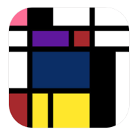 De Stijl Art Factory app for iOS